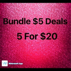 Accessories - Save even more with a bundle!